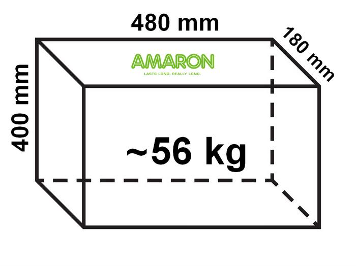 Amaron Inverter Battery dimensions