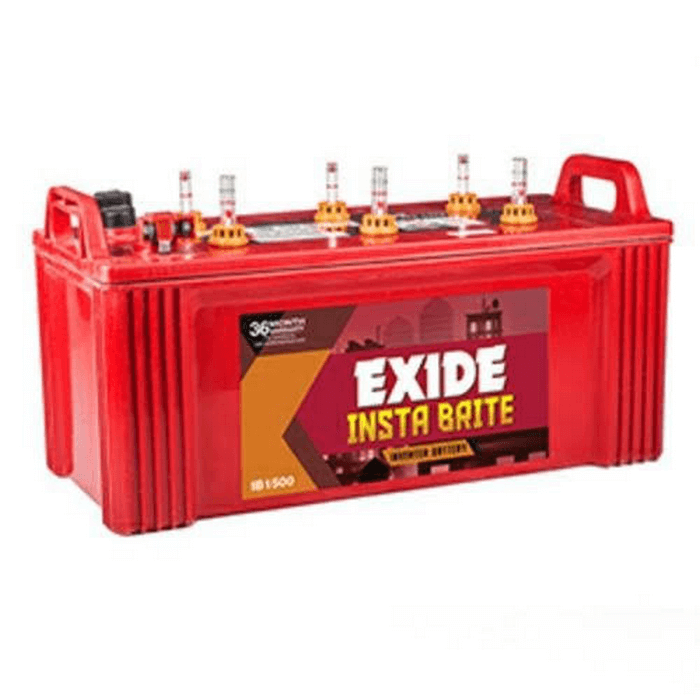 Exide Insta Brite 150Ah inverter battery