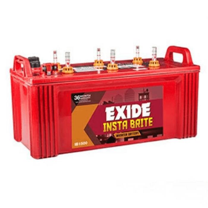 Exide Insta Brite 150Ah inverter battery