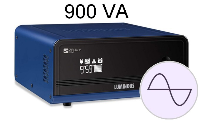 700 Luminous Zelio+ 1100 Home Pure Sinewave UPS Inverter 2.1