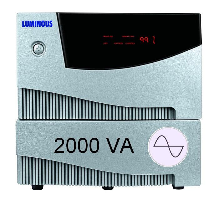 Luminous Hkva 2 Kva Sine Cruze Wave UPS Inverter