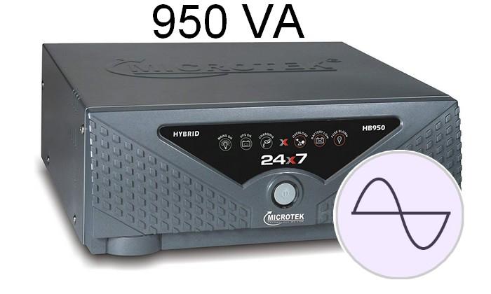 Microtek Ups 24×7 Hb 950Va Hybrid Sinewave Inverter 2.1
