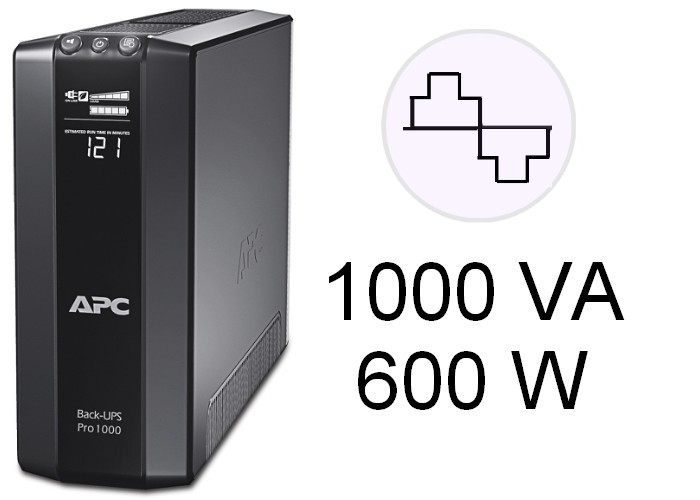 APC UPS Model BR1000G-IN 05