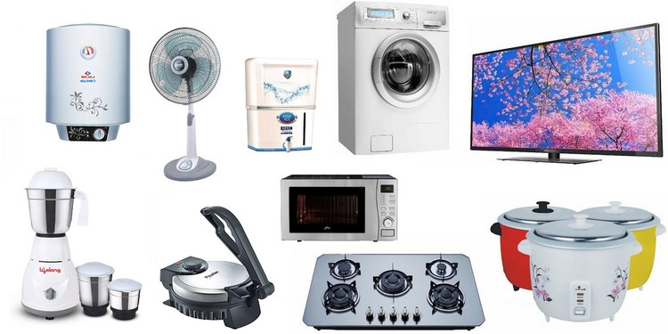 Appliances from India small