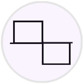 Square sine wave