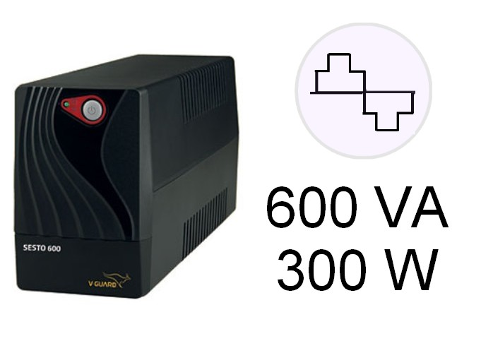 VGUARD UPS SESTO 600 02