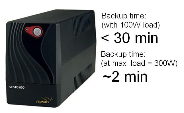 VGUARD UPS SESTO 600
