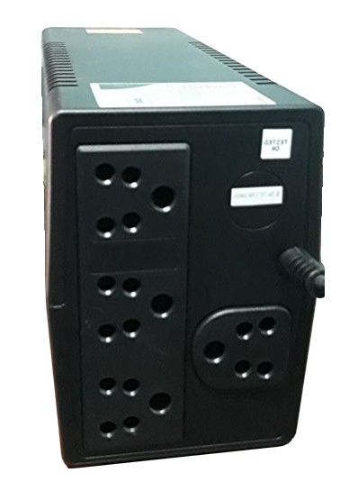 VGUARD UPS SESTO 600 back
