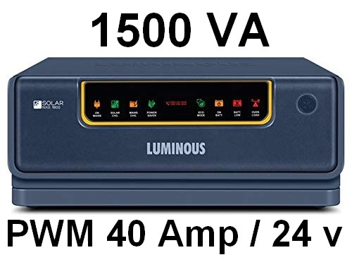 Luminous Solar NXG hybrid Inverter 1800 24V UPS inverter top 5