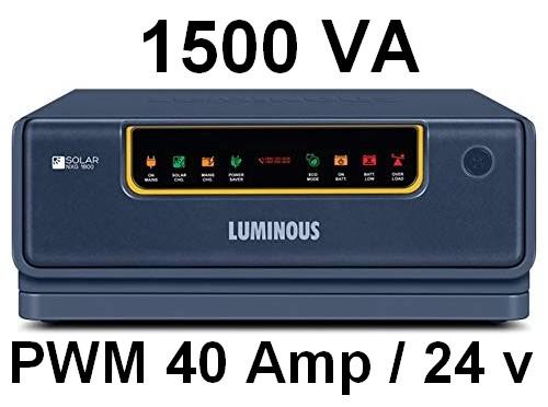 Luminous Solar NXG hybrid Inverter 1800 24V UPS inverter top 5