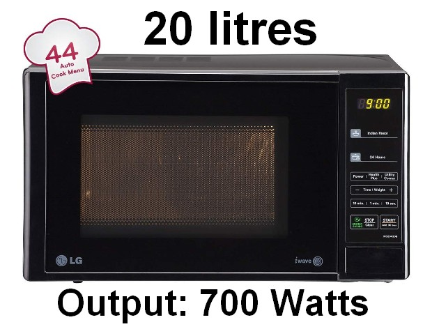 LG 20 L Solo Microwave Oven (MS2043DB, Black) 07