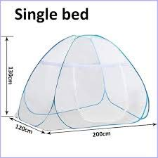 Classic Mosquito Net Foldable for Single Bed 08
