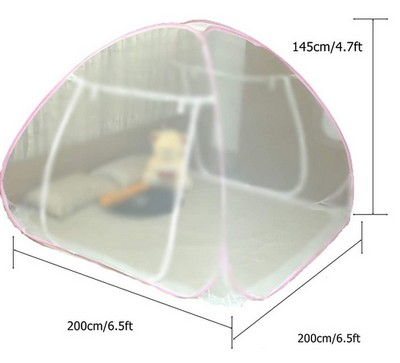 Classic mosquito net foldable for double bed analysis 02