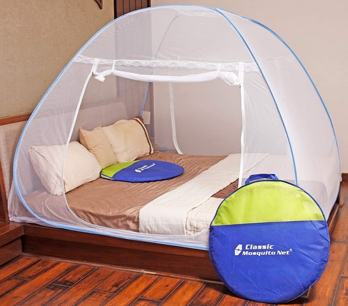 Classic mosquito net foldable for double bed analysis