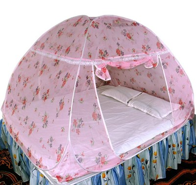 Healthy Sleeping Foldable Double Bed Mosquito Net 01.2