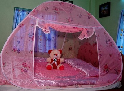 Healthy Sleeping Foldable Double Bed Mosquito Net 05